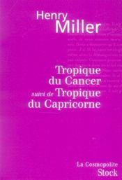 Tropique du cancer ; tropique du capricorne - Intérieur - Format classique
