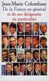 De La France En General Et De Ses Dirigeants En Particulier - Couverture - Format classique