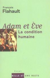 Adam et Eve ; la condition humaine - Intérieur - Format classique