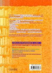 Tests psychotechniques 2 eme edition t5b - 4ème de couverture - Format classique