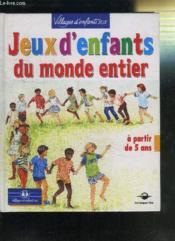 Jeux D'Enfants Du Monde Entier - Couverture - Format classique
