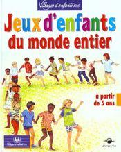 Jeux D'Enfants Du Monde Entier - Intérieur - Format classique