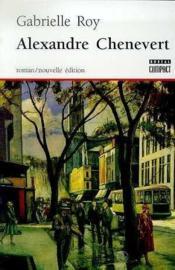 Alexandre Chenevert - Couverture - Format classique