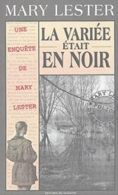 MARY LESTER T.25 ; la variée était en noir - Couverture - Format classique