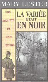 MARY LESTER T.25 ; la variée était en noir - Intérieur - Format classique