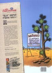 Zone 51 t.1 ; Roswell attitude - 4ème de couverture - Format classique