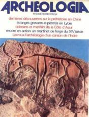 Archeologia n°123, octobre 1978 - Couverture - Format classique