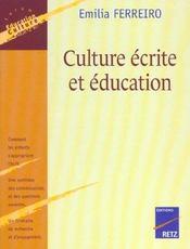 Culture écrite et éducation - Intérieur - Format classique