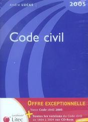Code civil - Intérieur - Format classique