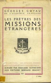 Les Pretres Des Missions Etrangeres. - Couverture - Format classique
