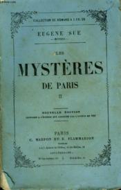 Les Mysteres De Paris. Tome 2. - Couverture - Format classique