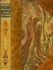 Elevations Prieres Et Pensees - Couverture - Format classique