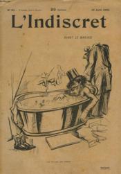 L'Indiscret N°83, 19 Août 1903. Avant Le Mariage - Couverture - Format classique