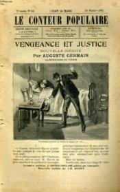 Vengeance et justice - Couverture - Format classique
