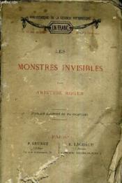 Les Monstres Invisibles. - Couverture - Format classique
