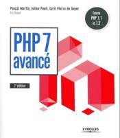 PHP 7 avancé (5e édition) - Couverture - Format classique