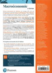 Macroéconomie (8e édition) - 4ème de couverture - Format classique