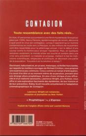 Contagion - 4ème de couverture - Format classique
