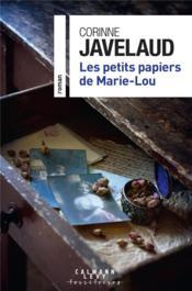 Les petits papiers de Marie-Lou - Couverture - Format classique