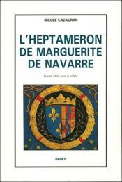 L'heptaméron de Marguerite de Navarre - Couverture - Format classique