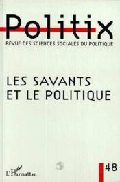 Les savants et le politique - Couverture - Format classique