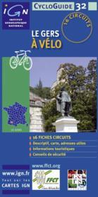 Le Gers à vélo - Couverture - Format classique
