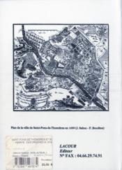Saint pons de thomieres et son abbaye : des origines a 1318 - 4ème de couverture - Format classique