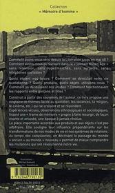 Au temps des cataplasmes, 1944-1963 ; la France d'avant la télé - 4ème de couverture - Format classique