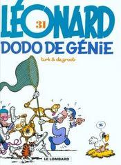 Léonard T.31 ; dodo du génie - Intérieur - Format classique