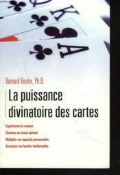La puissance divinatoire des cartes - Couverture - Format classique