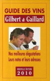 Guide des vins Gilbert et Gaillard - Couverture - Format classique