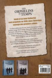 Les orphelins du temps t.3 ; sabotage - 4ème de couverture - Format classique