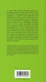 Dans les vignes ; chroniques d'une reconversion - 4ème de couverture - Format classique