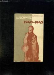 Auschwitz 1940 - 1945. - Couverture - Format classique