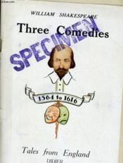William Shakespeare, Three Comedies N°3 - Couverture - Format classique
