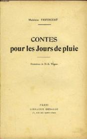 Contes Pour Les Jours De Pluie - Couverture - Format classique