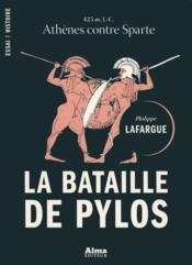 La bataille de Pylos - Couverture - Format classique