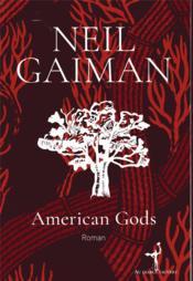 American gods - Couverture - Format classique