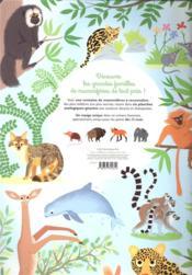 Mon tour du monde géant des mammifères - 4ème de couverture - Format classique