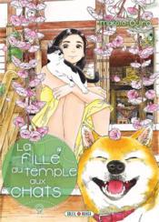 La fille du temple aux chats T.9 - Couverture - Format classique