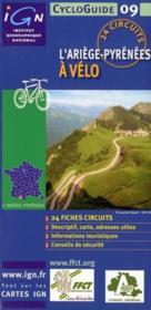 L'Ariège à vélo - Couverture - Format classique