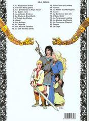 Thorgal T.1 ; la magicienne trahie - 4ème de couverture - Format classique