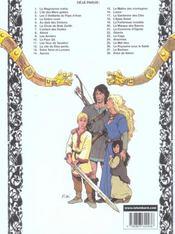 Thorgal T.28 ; Kriss de Valnor - 4ème de couverture - Format classique