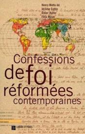 Confessions de foi réformées contemporaines - Couverture - Format classique
