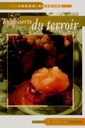 Les desserts du terroir - Couverture - Format classique