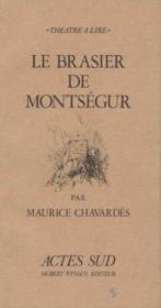 Le brasier de montsegur - Couverture - Format classique
