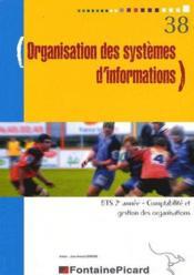 Organisation des systèmes d'informations bts2 cgo - Couverture - Format classique