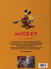 Mickey ; le cycle des magiciens t.3 - 4ème de couverture - Format classique