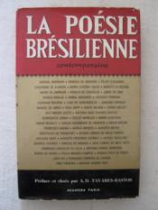 La poésie brésilienne contemporaine - Couverture - Format classique