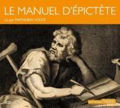 Le manuel d'Epictète - Couverture - Format classique